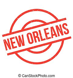 New Orleans rubber stamp. Grunge design with dust scratches....