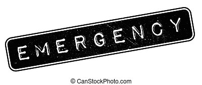 Emergency rubber stamp