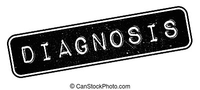 Diagnosis rubber stamp