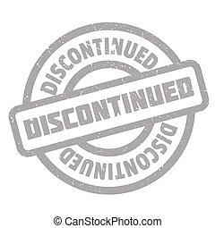 Discontinued rubber stamp. Grunge design with dust...