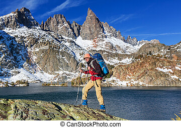 Minaret lake - Hike to beautiful Minaret Lake, Ansel Adams...
