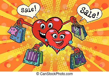 Holiday sales on Valentines day