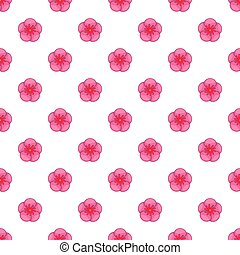 The Rose of Sharon pattern, cartoon style - The Rose of...
