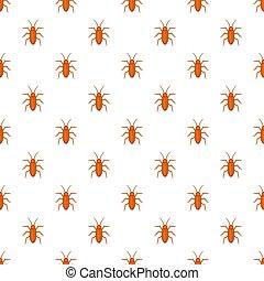 Cockroach pattern, cartoon style - Cockroach pattern....