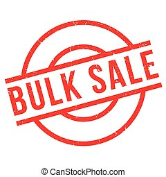 Bulk Sale rubber stamp. Grunge design with dust scratches....