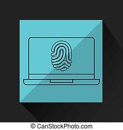 computer fingerprint secure database