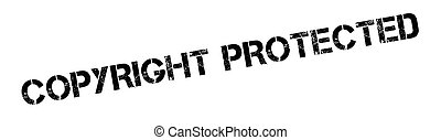 Copyright Protected rubber stamp