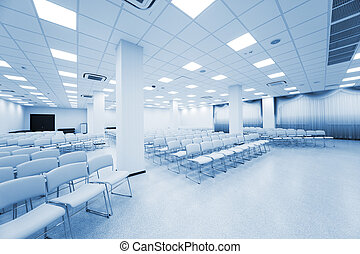white auditorium