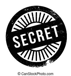 Secret stamp. Grunge design with dust scratches. Effects can...