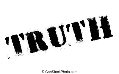 Truth stamp. Grunge design with dust scratches. Effects can...
