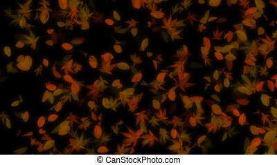 Autumn Falling Leaves Loop - It's perfect for use with...