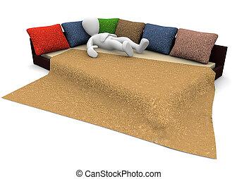 3d image, rest