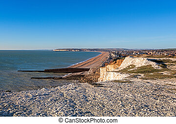 View of Seaford in Sussex