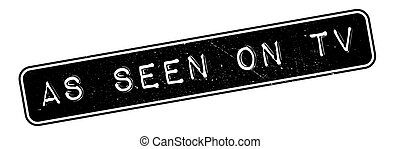 As Seen On Tv rubber stamp