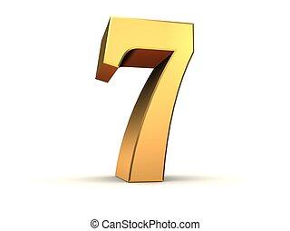 golden number - 7