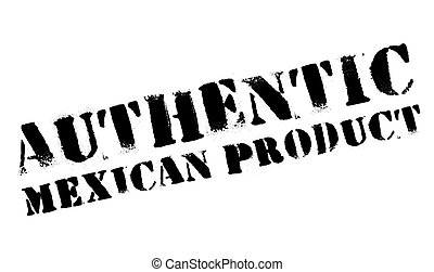 Authentic mexican product stamp. Grunge design with dust...