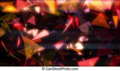 Glowing Triangles Vj Loop is a cool animated background. It...