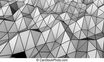 Triangular lowpoly loop - This background is perfect for...