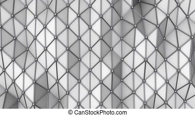 Corporate Triangular Background Loop - This background is...