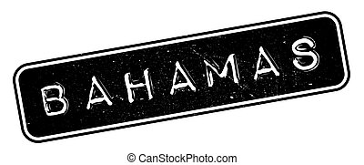 Bahamas rubber stamp. Grunge design with dust scratches....