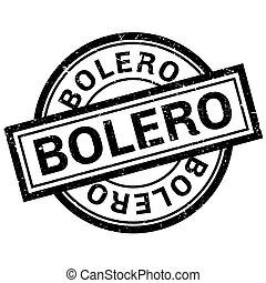 caoutchouc, timbre,  Boléro
