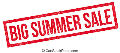 Big Summer Sale rubber stamp. Grunge design with dust...