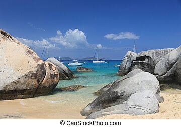 The Baths - Famous The Baths on Virgin Gorda, British Virgin...