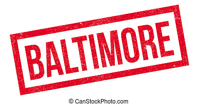 Baltimore rubber stamp. Grunge design with dust scratches....