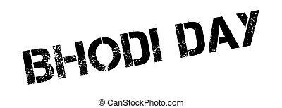 Bhodi Day rubber stamp