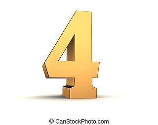 golden number - 4