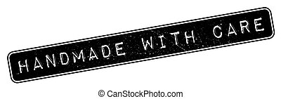 Handmade With Care rubber stamp
