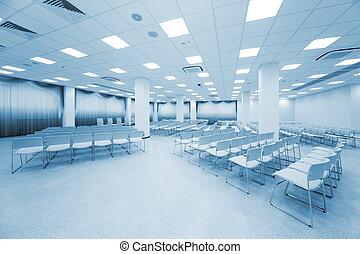 large white auditorium