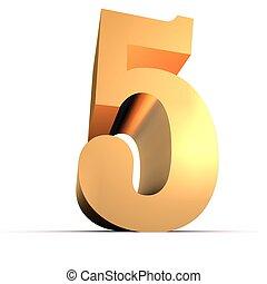 golden number - 5