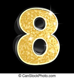 golden number - 8
