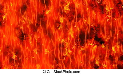 motion of lava hot fire texture