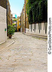 Back alley - Narrow back alley street in old London