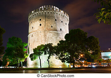 White Tower, Thessaloniki - Famous White Tower in...