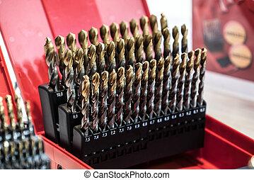 Drill bits - Set of different drill bits