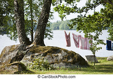 Camping Laundry