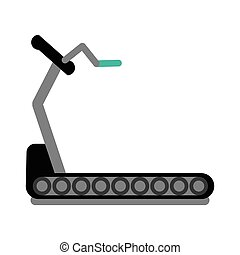 fitness walking machine gym design
