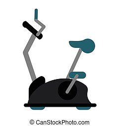 bike static machine fitness gym