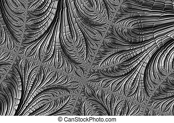 Abstract halftone texture - digitally generated image -...