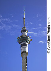 AucklandSky Tower - Aucklands iconic 328-meter tall Sky...