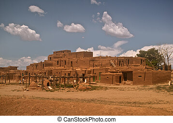 Taos Pueblo - North Section - This Native American city is...
