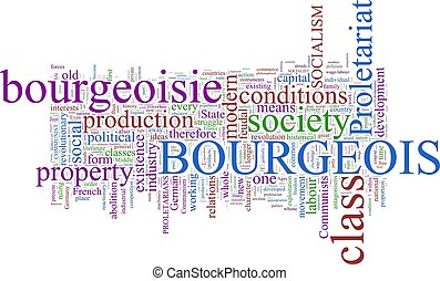 The Communist Manifesto - A word cloud based on Marx and...