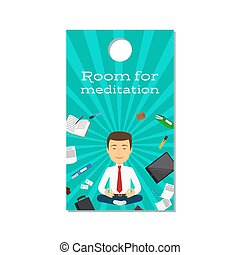 Room for meditation office door design - Room for meditation...