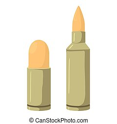 Cartridge icon, cartoon style - Cartridge icon. Cartoon...