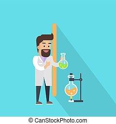 Science Alphabet. Letter - I.