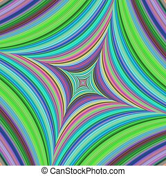 Abstract psychedelic quadratic background design - Abstract...