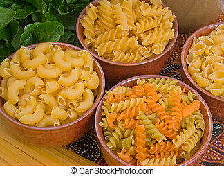Selection of Pasta Varieties - Selection of pasta varieties...